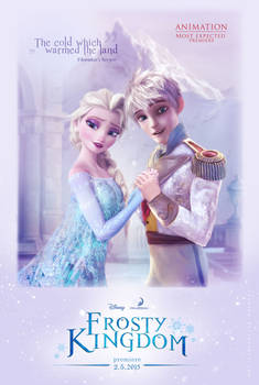 Elsa and Jack Frost in Frosty Kingdom