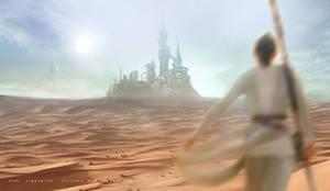 Disney - Star Wars - Castle Wallpeper