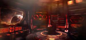 Klingon starship - bridge
