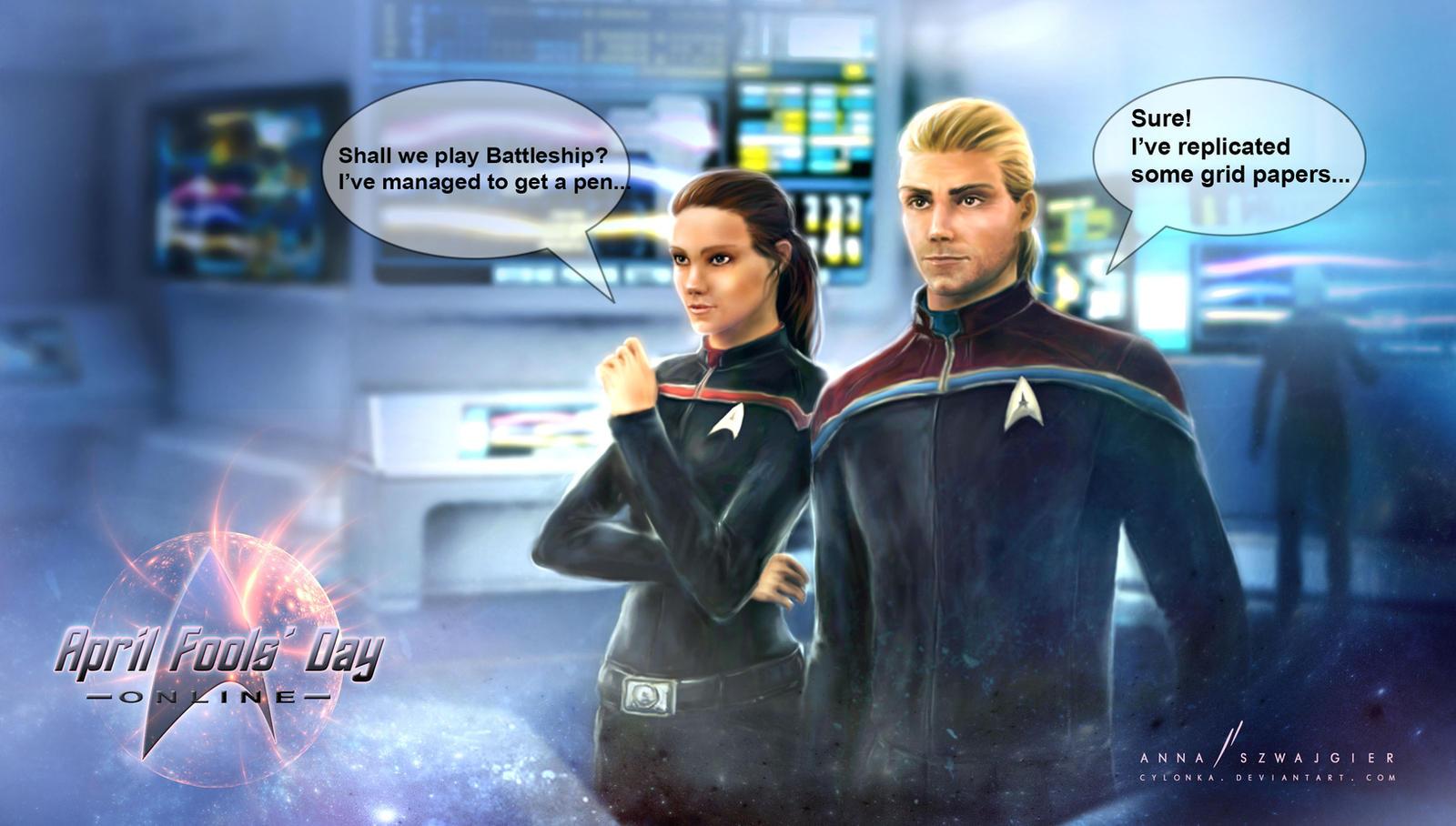 Star Trek Online - characters