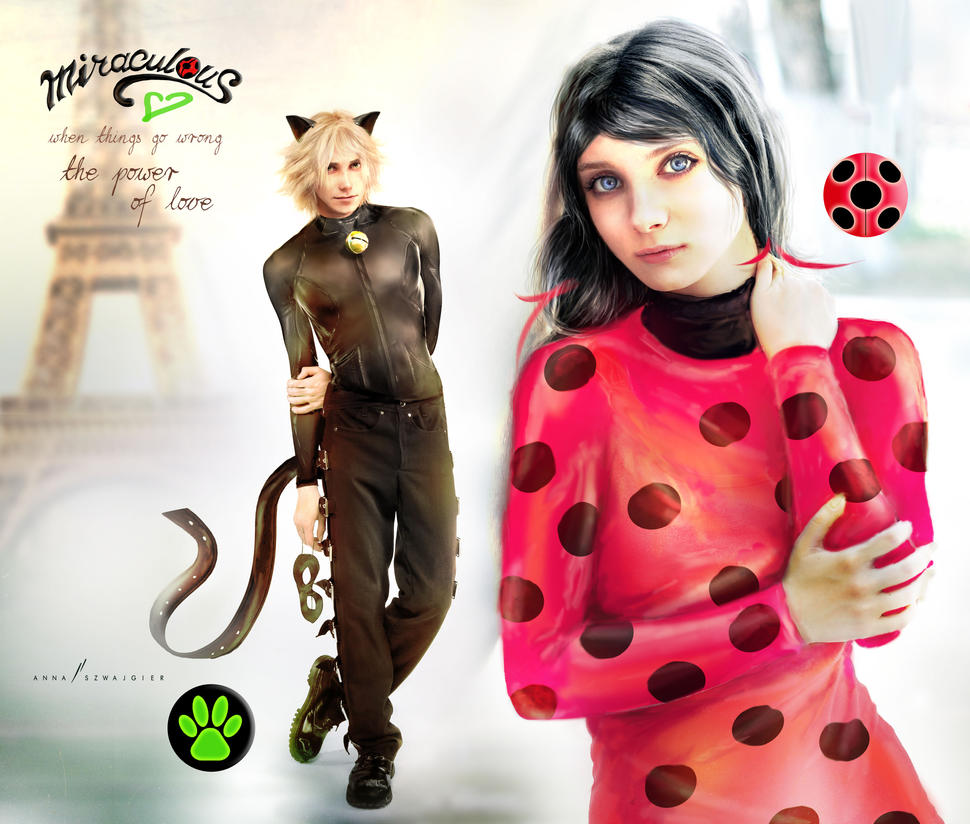 Miraculous - the real ones by cylonka on DeviantArt
