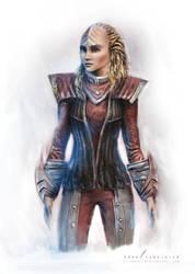 Daren - Klingon warrior by cylonka