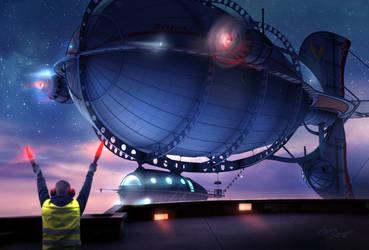 Zeppelin by cylonka