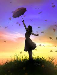 Umbrella by cylonka