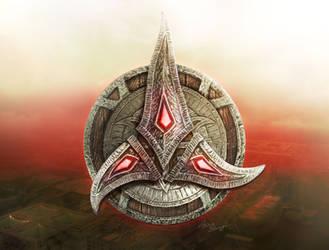 Ancient Klingons' Logo Alpha by cylonka