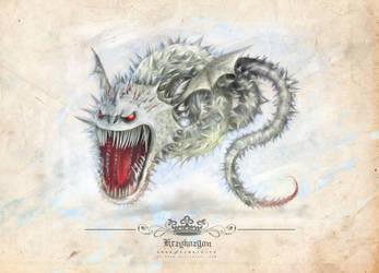 Screaming Death Dragon by cylonka