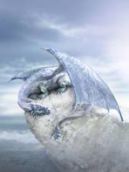 Snow Dragon by cylonka
