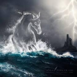 Mystic water horse: Kelpie. Each-uisge.
