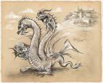 Triple Head Polish Dragon