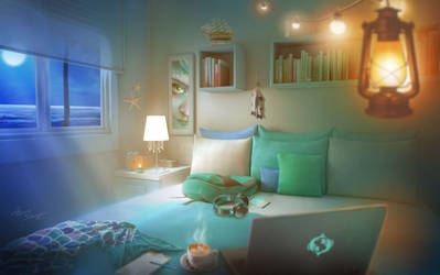 Mermaid's Room - cozy and ambient