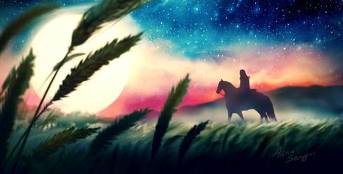 Gwynblade - lone rider by cylonka