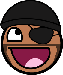 Awesome Smiley - Demoman TF2 by Sitic