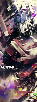 Optimus Prime Signature