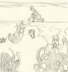 The Little Mermaid by Mystic-Ruins