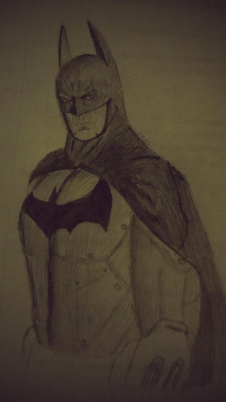 Batman Arkham City Drawing by LMR-2193 on DeviantArt