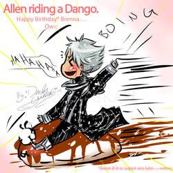 Happy Birthday - Allen + Dango