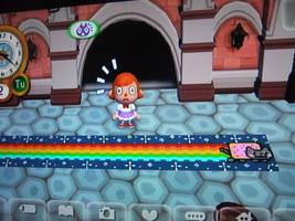 Animal Crossing Nyan Cat by Suikasen