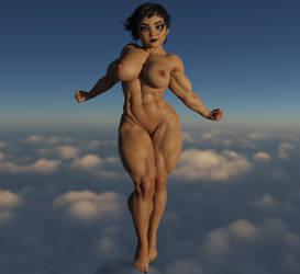 Nude Amy by DAZ-da-way