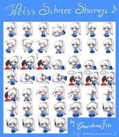 RWBY: Weiss Schnee Shimeji by winter-edition