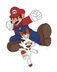 #1. Mario and Scorbunny