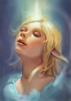 Unicorn Light Elfgirl