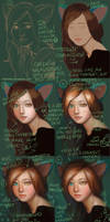 Catgirl Portrait - WIP by Maximko