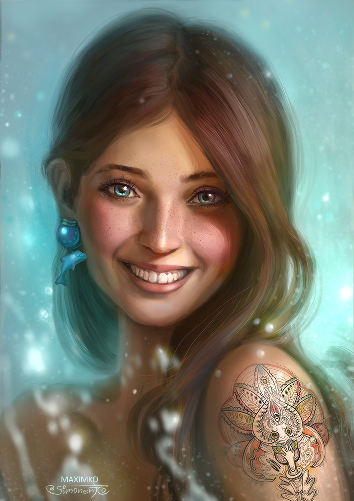 Smile By Maximko On Deviantart