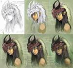 Dragongirl - WIP