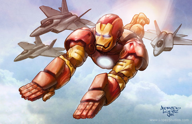 Iron man by GraphicGeek