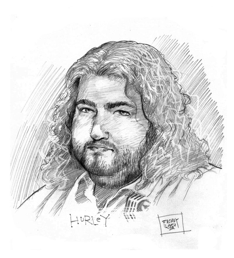 Hurley Wallpaper: Lost: Hurley By GraphicGeek On DeviantArt