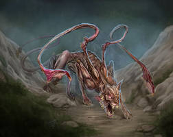 Displacer Beast by GraphicGeek
