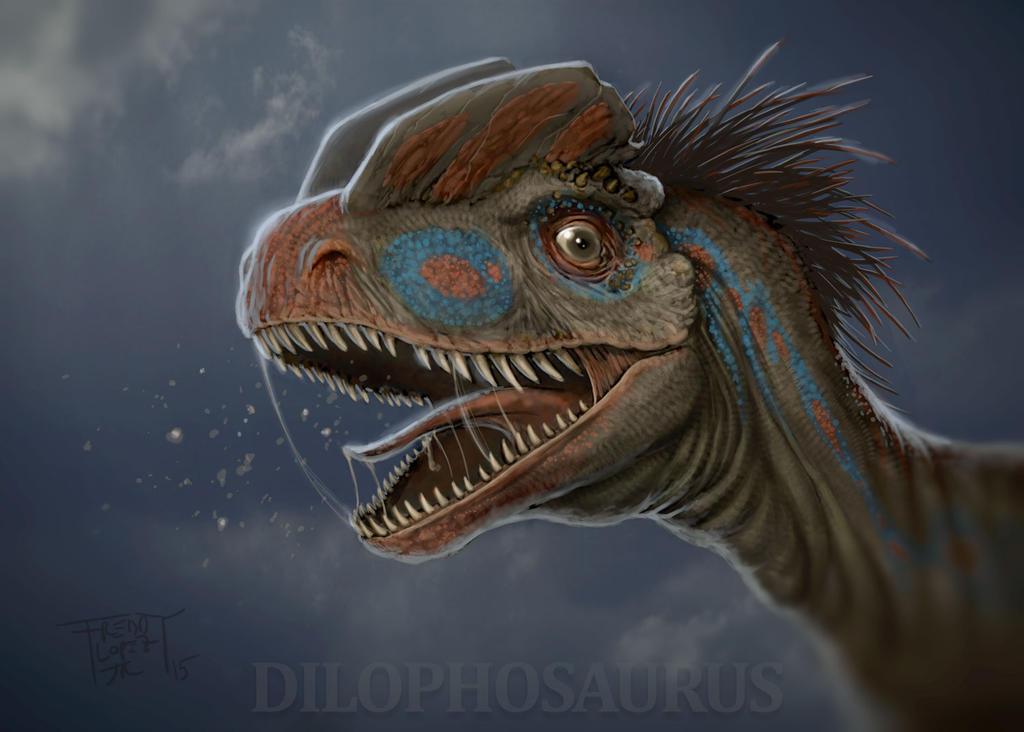 Dilophosaurus by GraphicGeek