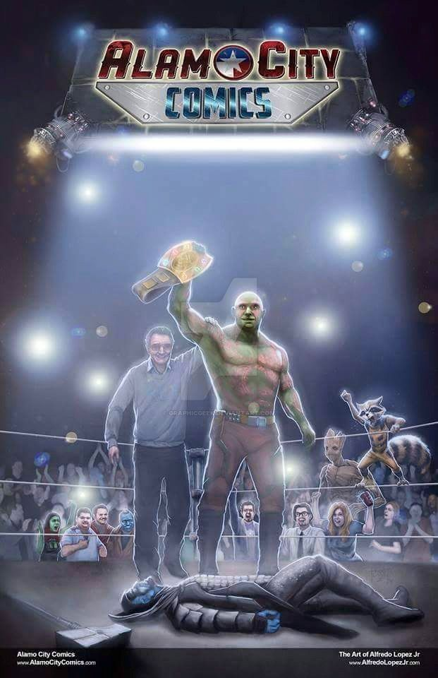 Drax / Batista Guardians of the Belt by GraphicGeek