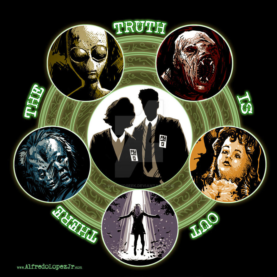 The truth is out there by GraphicGeek