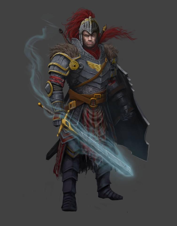 Dungeon Crusade: Adventurer - Knight by GraphicGeek