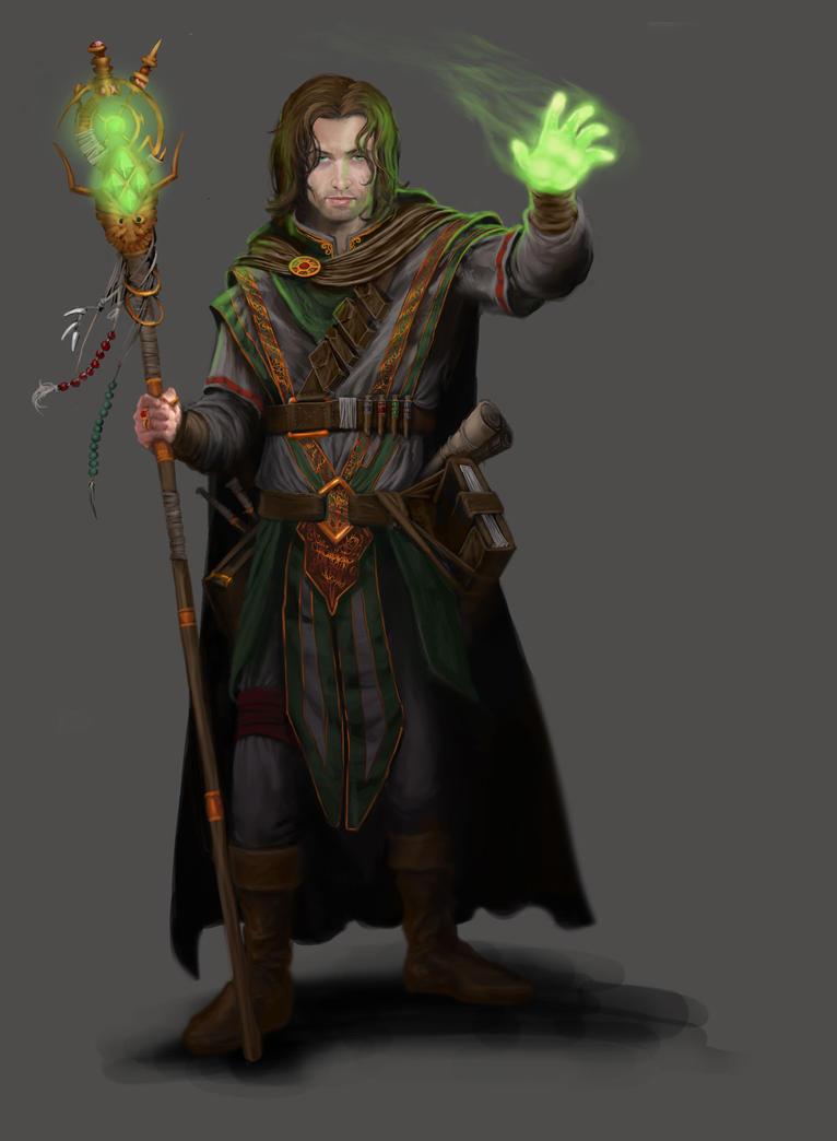 Dungeon Crusade: Adventurer - Wizard by GraphicGeek