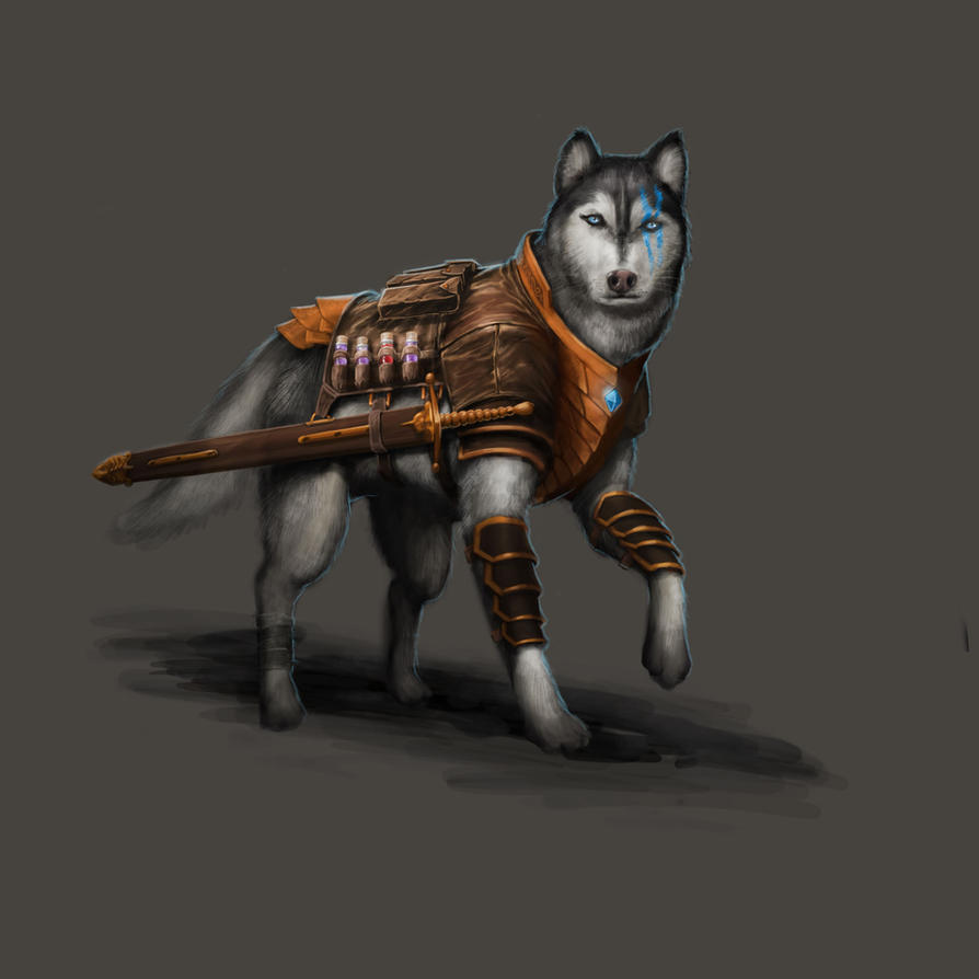 Dungeon Crusade: FetchDog - Albus by GraphicGeek