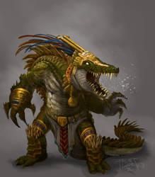 Mayan: Gator Warrior
