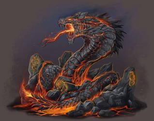 TALOC: lava serpent