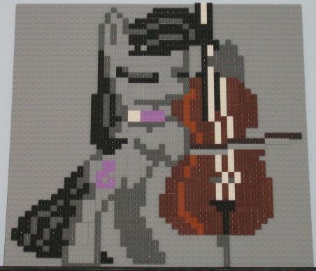 Lego Octavia Mosaic by FallSilently