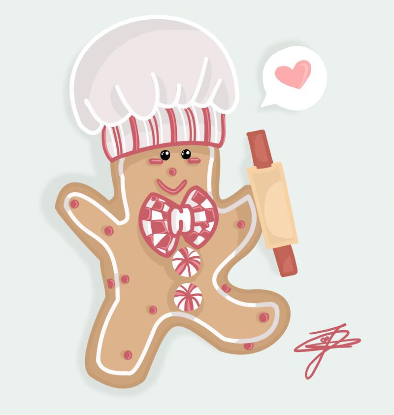 Gingerbread Man Kitchen Decor