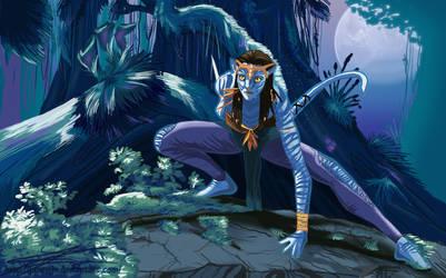 Neytiri:spirits of the forest by Jasmiijn