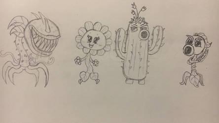 Plant Forces - Plants vs Zombies Garden Warfare by RazesHellFanboy