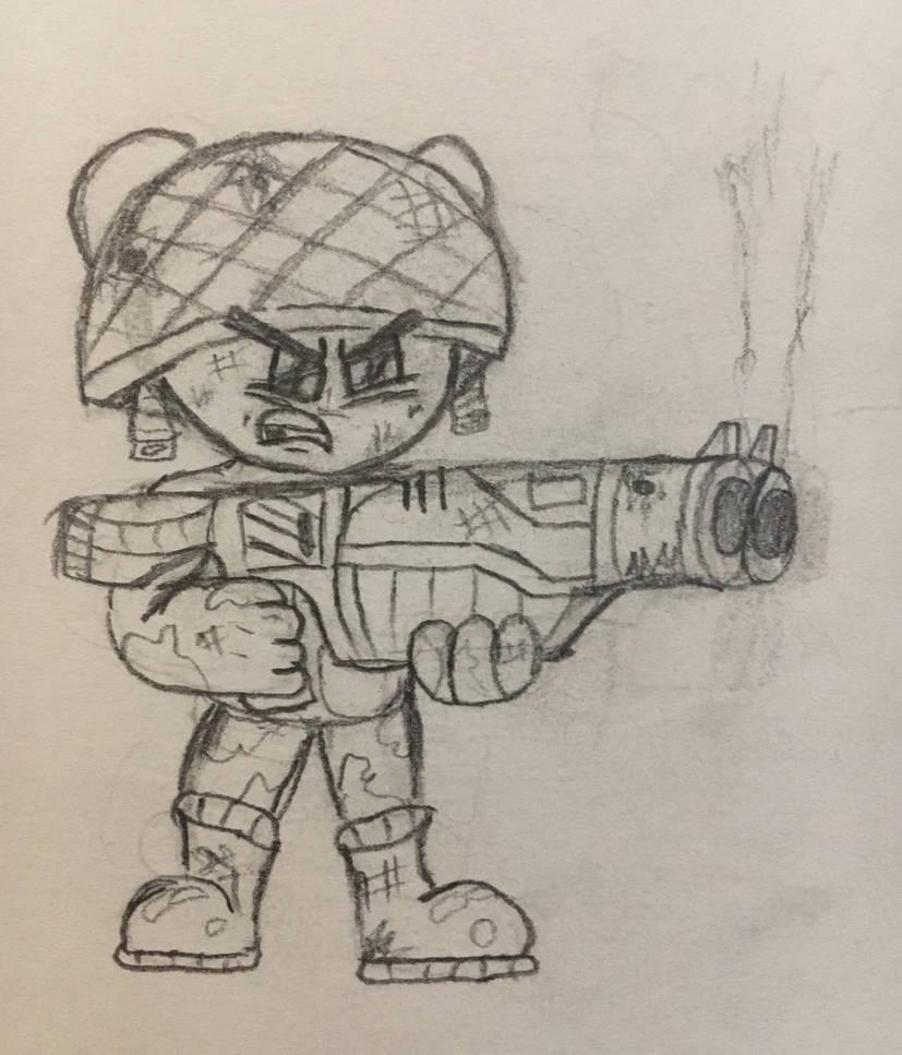 Shotgun Critter - Raze's Hell by RazesHellFanboy
