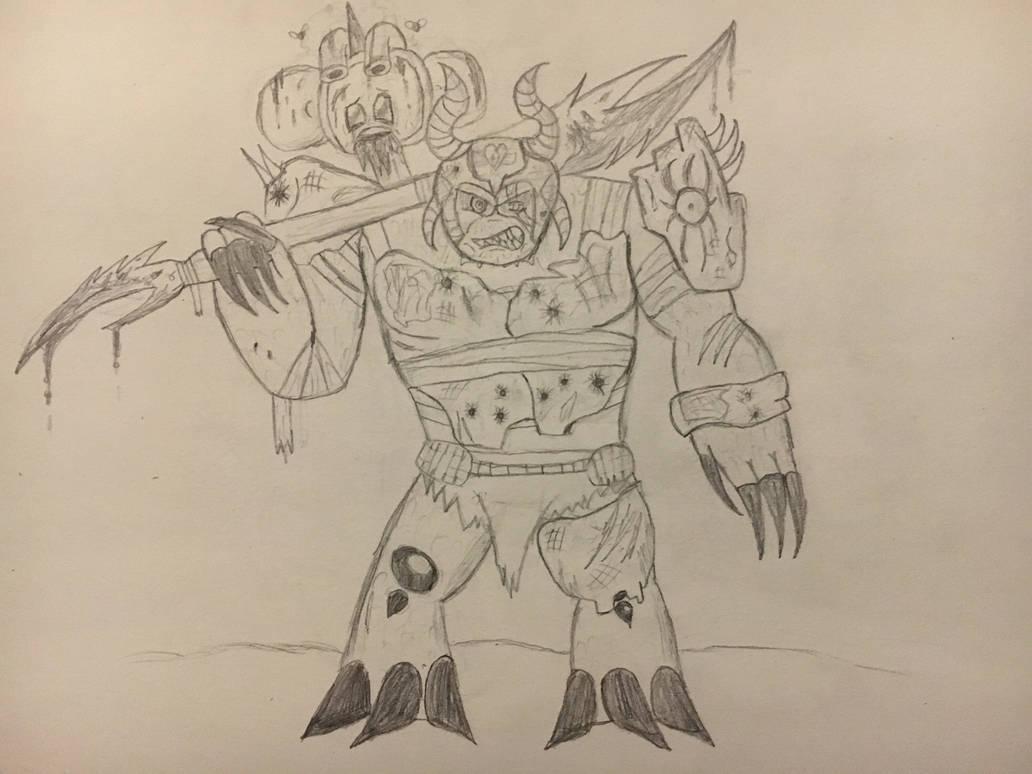 KRAAG, the Leader of the Monster Resistance - RH by RazesHellFanboy