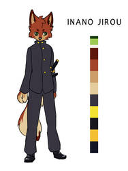Irano Jiroou by WOLFWARRIOIS