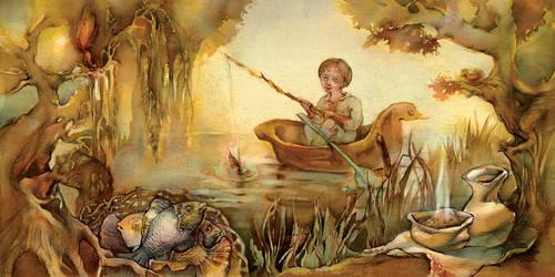 Ivasik-telesic on a fishing