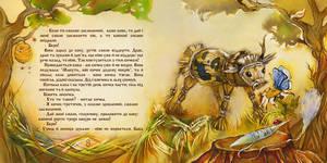 Straw Bull by OlgaSternik