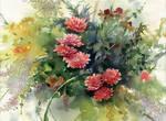 Flowers on  Makoviy day