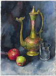 Still life with the Indian teapot